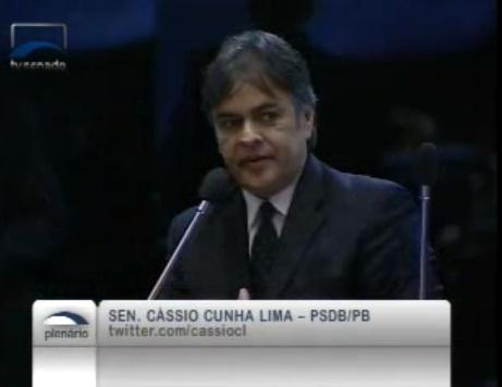 Senador tucano � contra mat�ria que barra o surgimento de novos partidos (foto assessoria)