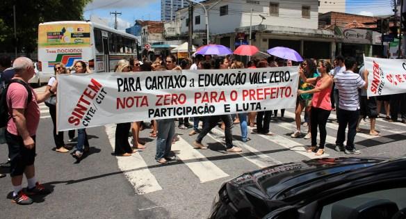 Protesto de professores