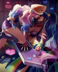Miss Fortune and Sona By: ???