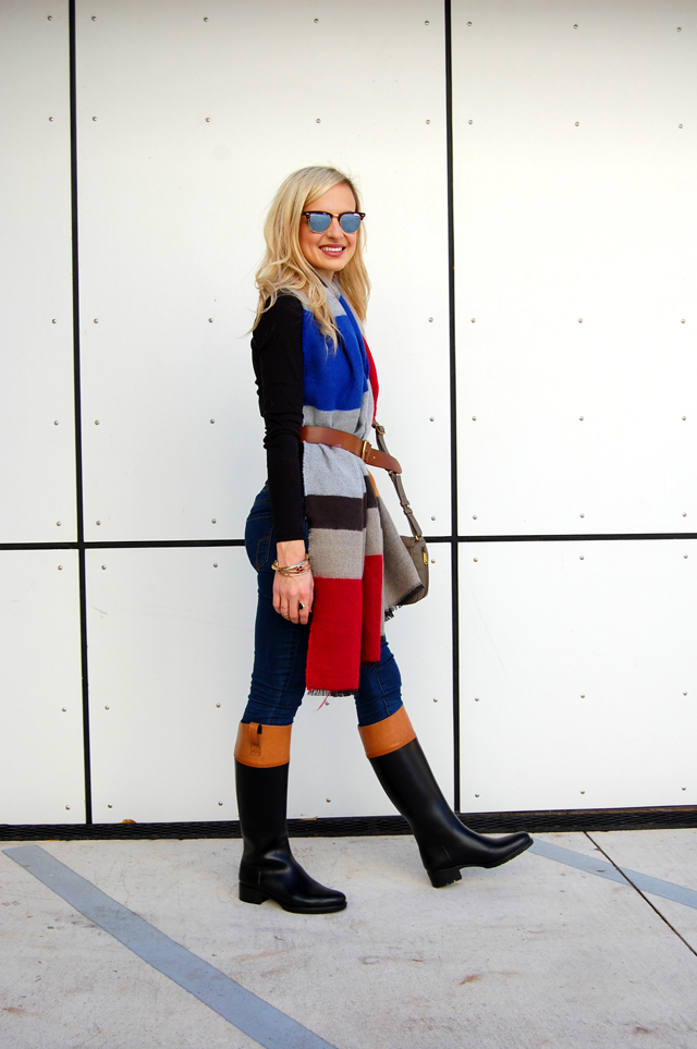 belted-scarf-fall-outfit-idea