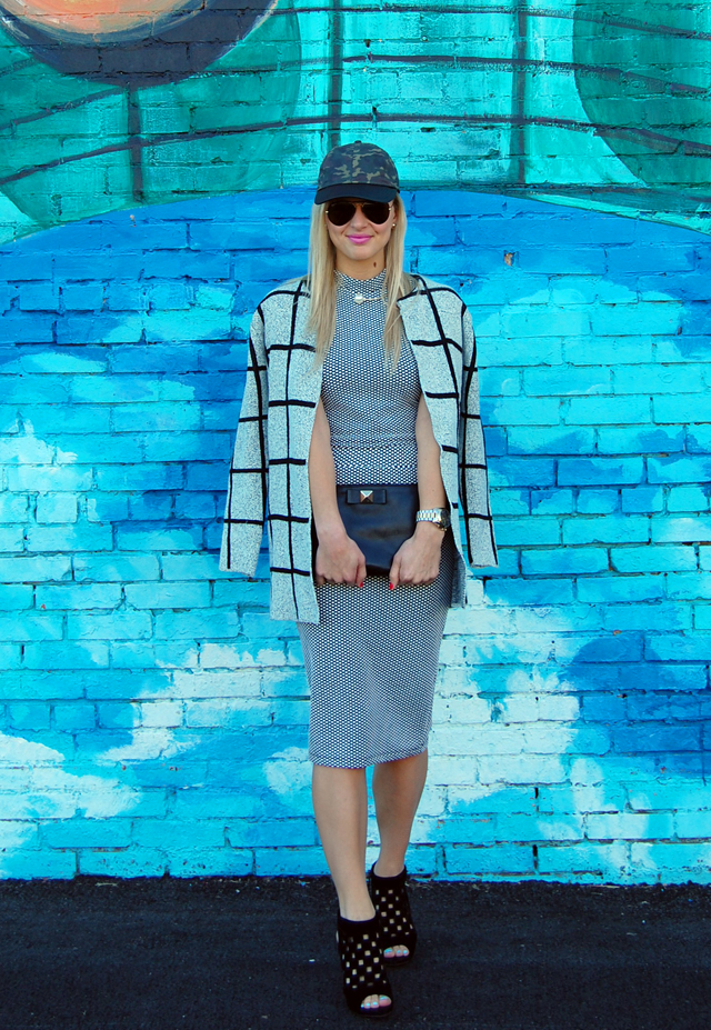 Black & White Two-Piece Outfit