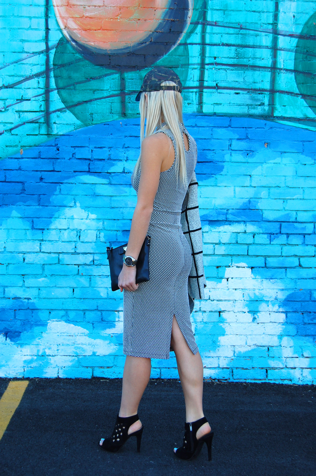 Two Piece Black & White Outfit