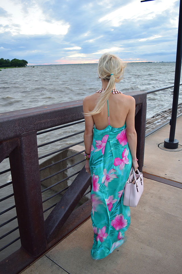 t back mumu maxi dress