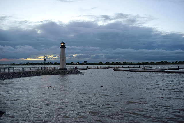 the harbor light house