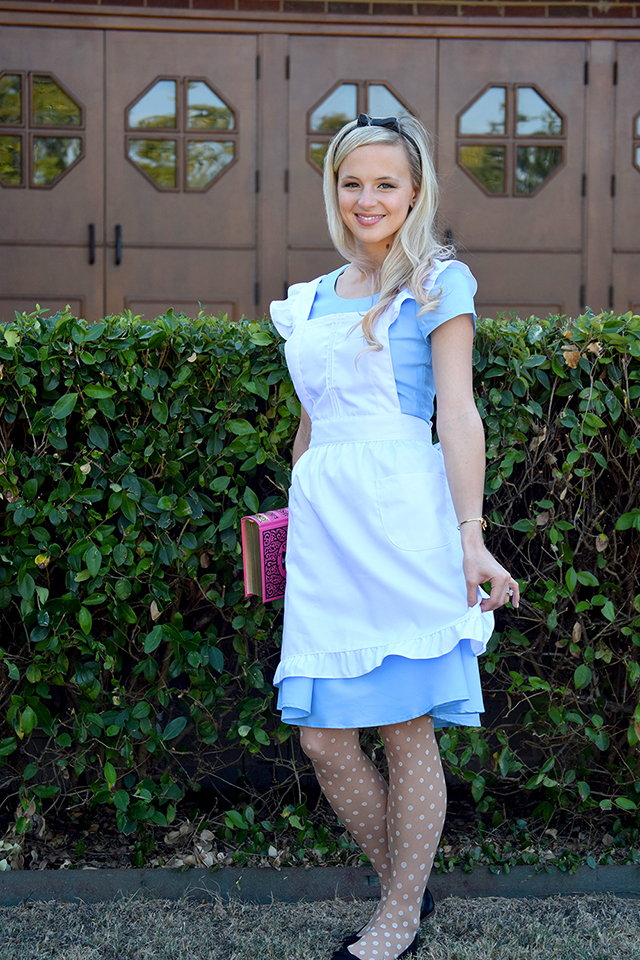 alice dress apron