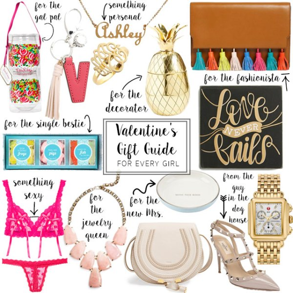 valentines gift guide for every girl