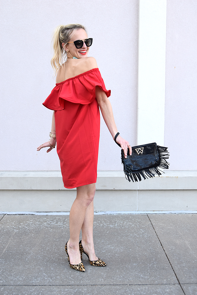 red-ruffle-dress
