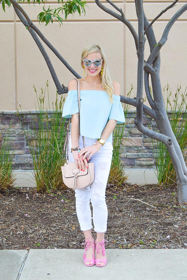 vandi-fair-blog-lauren-vandiver-dallas-texas-southern-fashion-blogger-topshop-light-blue-livi-off-the-shoulder-top-vigoss-destroyed-white-skinny-jeans-sam-edelman-azela-tassel-sandals-10