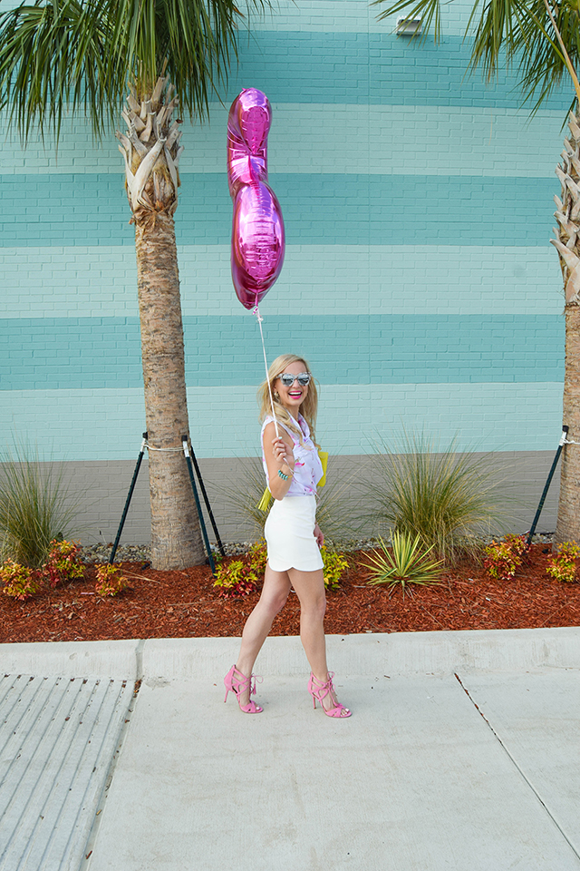 vandi-fair-lauren-vandiver-dallas-texas-southern-fashion-lifestyle-blogger-2-year-blogiversary-24-things-about-me-goodnight-macaron-pink-flamingo-shirt-topshop-white-scallop-mini-skirt-1