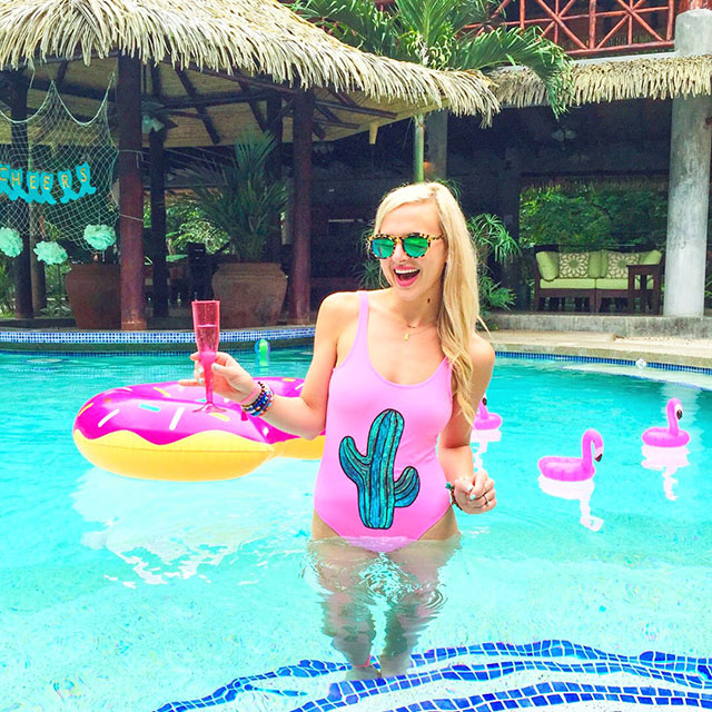 vandi-fair-blog-lauren-vandiver-dallas-texas-fashion-blogger-costa-rica-instagram-ig-round-up-topshop-sequin-cactus-one-piece-swimsuit-hot-pink
