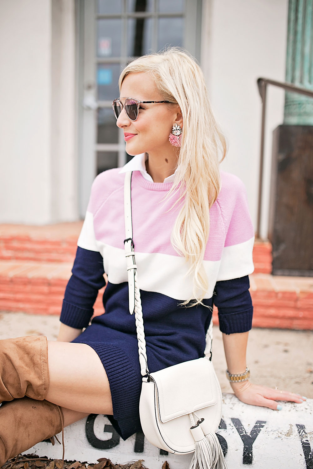 collared-shirt-layered-sweater-dress-outfit