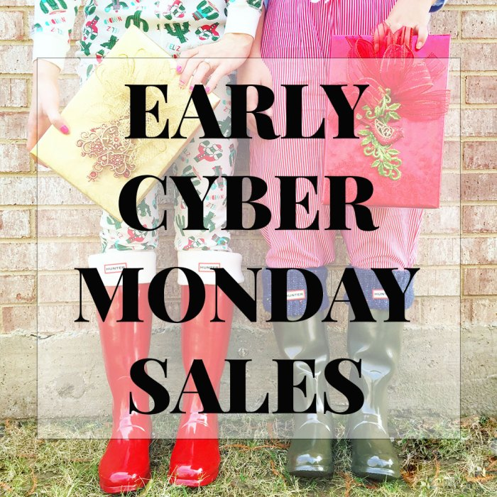 early-cyber-monday-sales