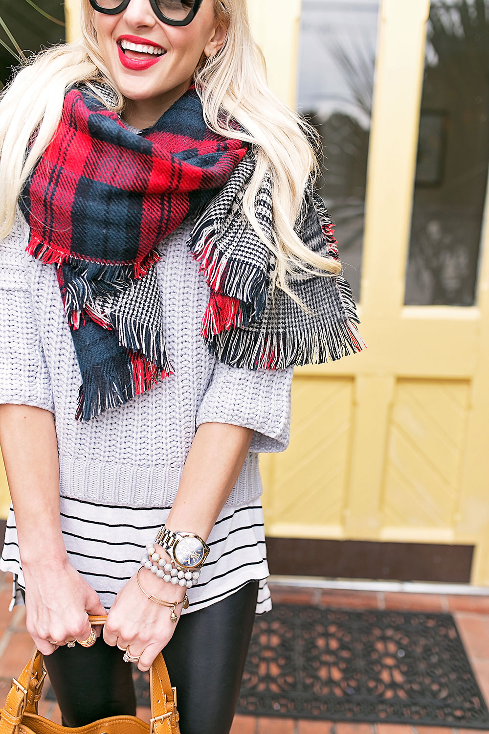 long-tee-knit-sweater-scarf-layered-outfit