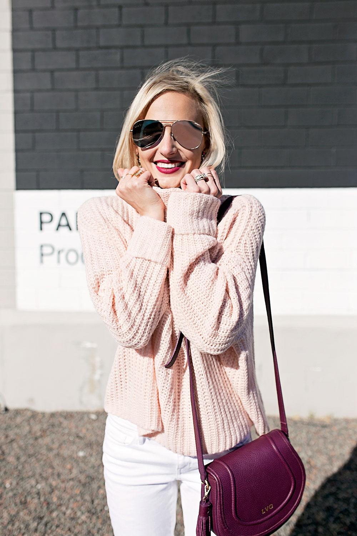 light-pink-rolled-sleeve-turtleneck-sweater