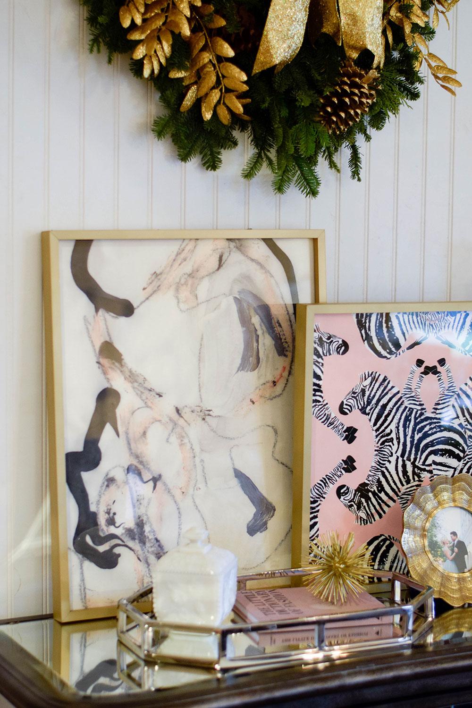 minted-framed-art-credenza-home-inspiration