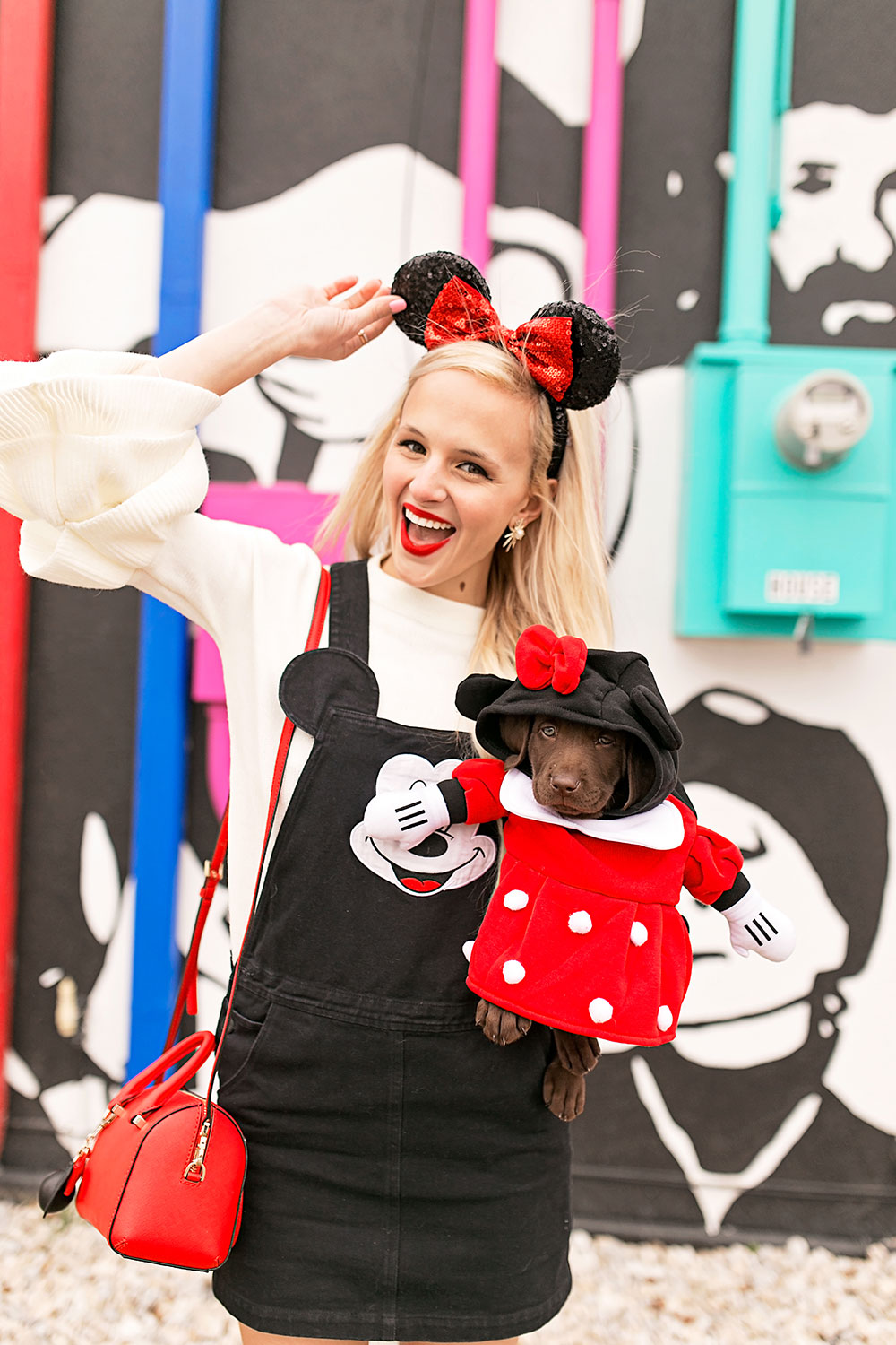 lazy-oaf-disney-mickey-mouse-pinafore-dress