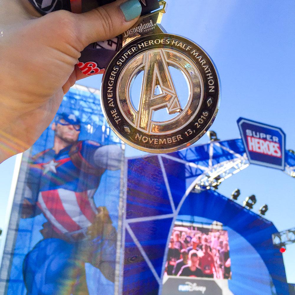run-disney-disneyland-avengers-half-marathon-medal