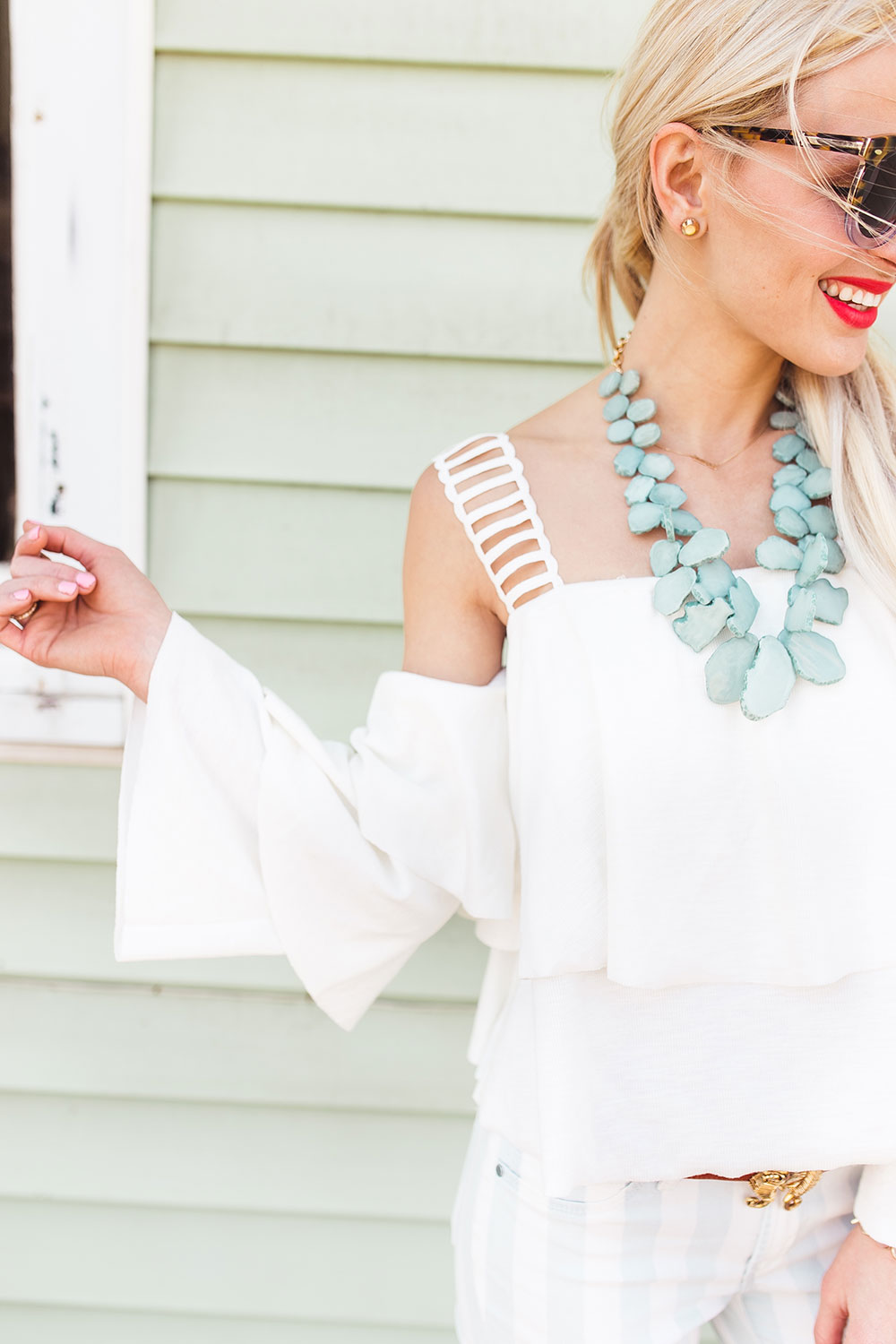 white-ruffled-sleeve-top