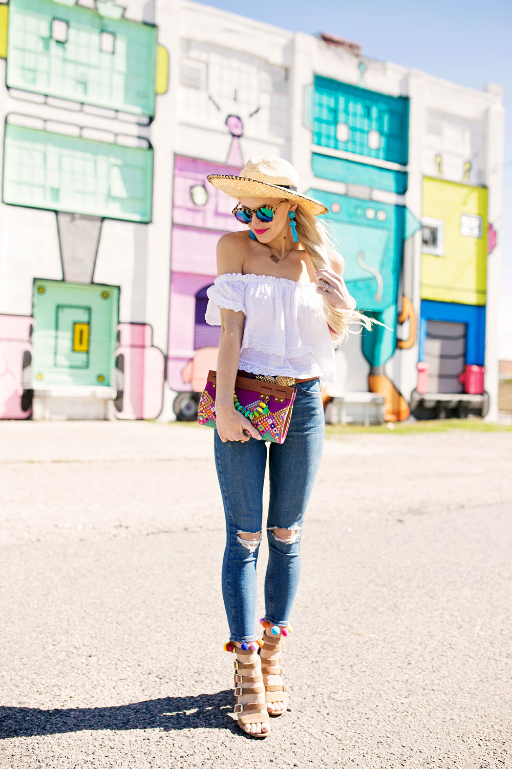 white-off-shoulder-top-skinny-jeans-spring-2017-outfit