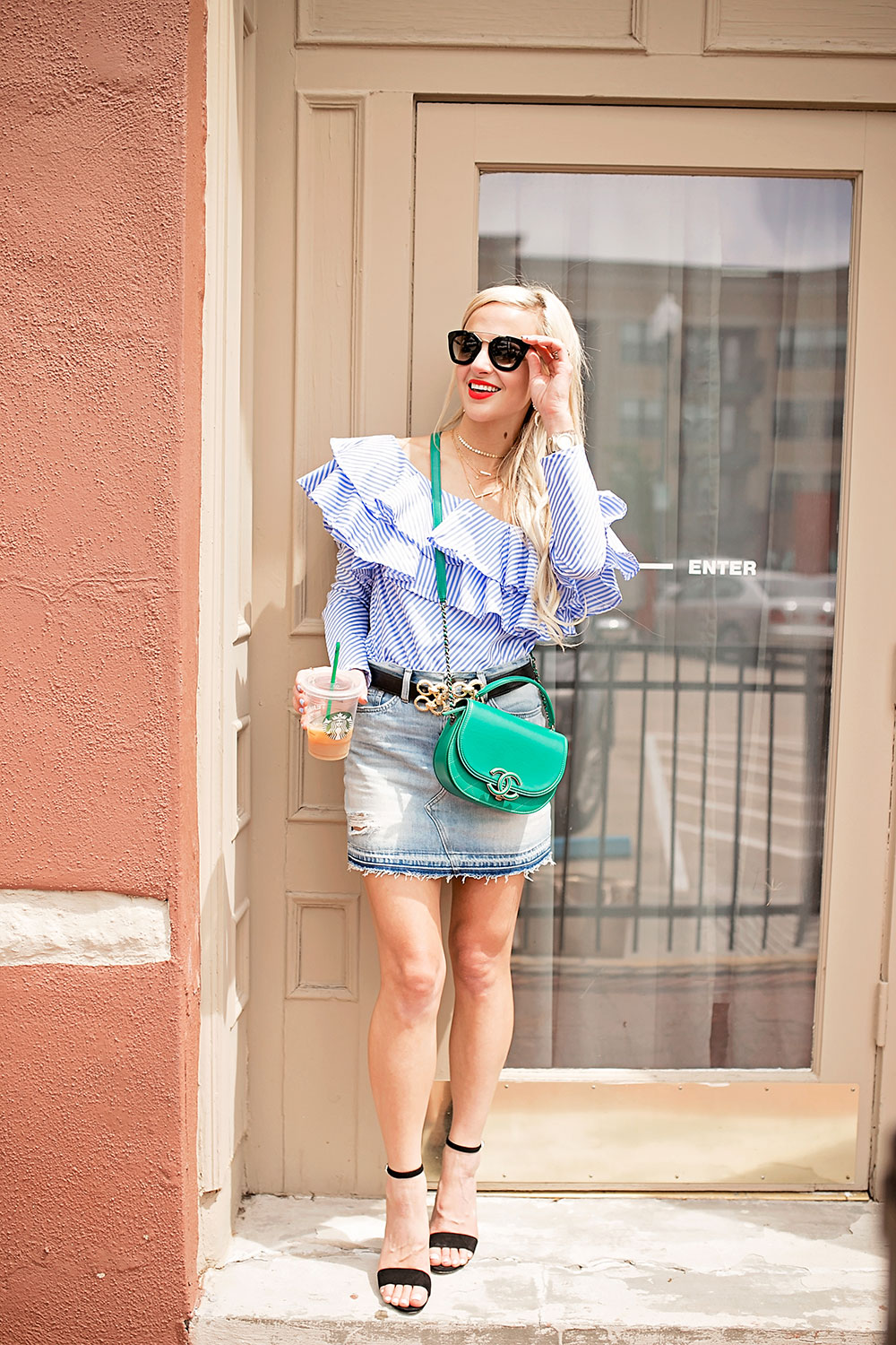 denim-mini-skirt-spring-outfit