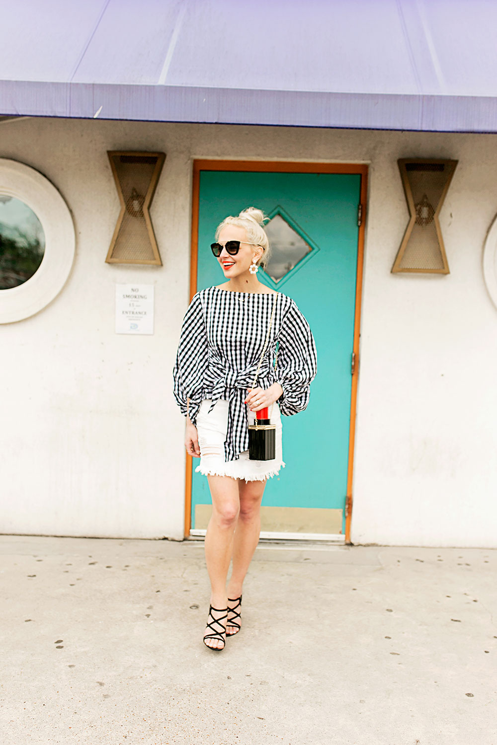 5a946e8ed06ba gingham-top-and-white-denim-mini-skirt-outfit