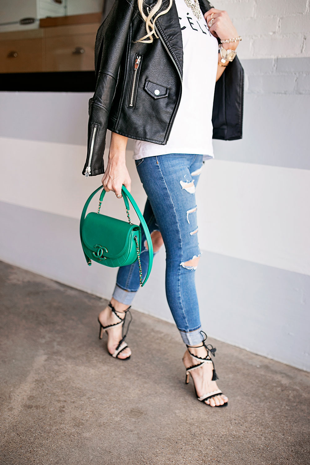 green-top-handle-chanel-bag