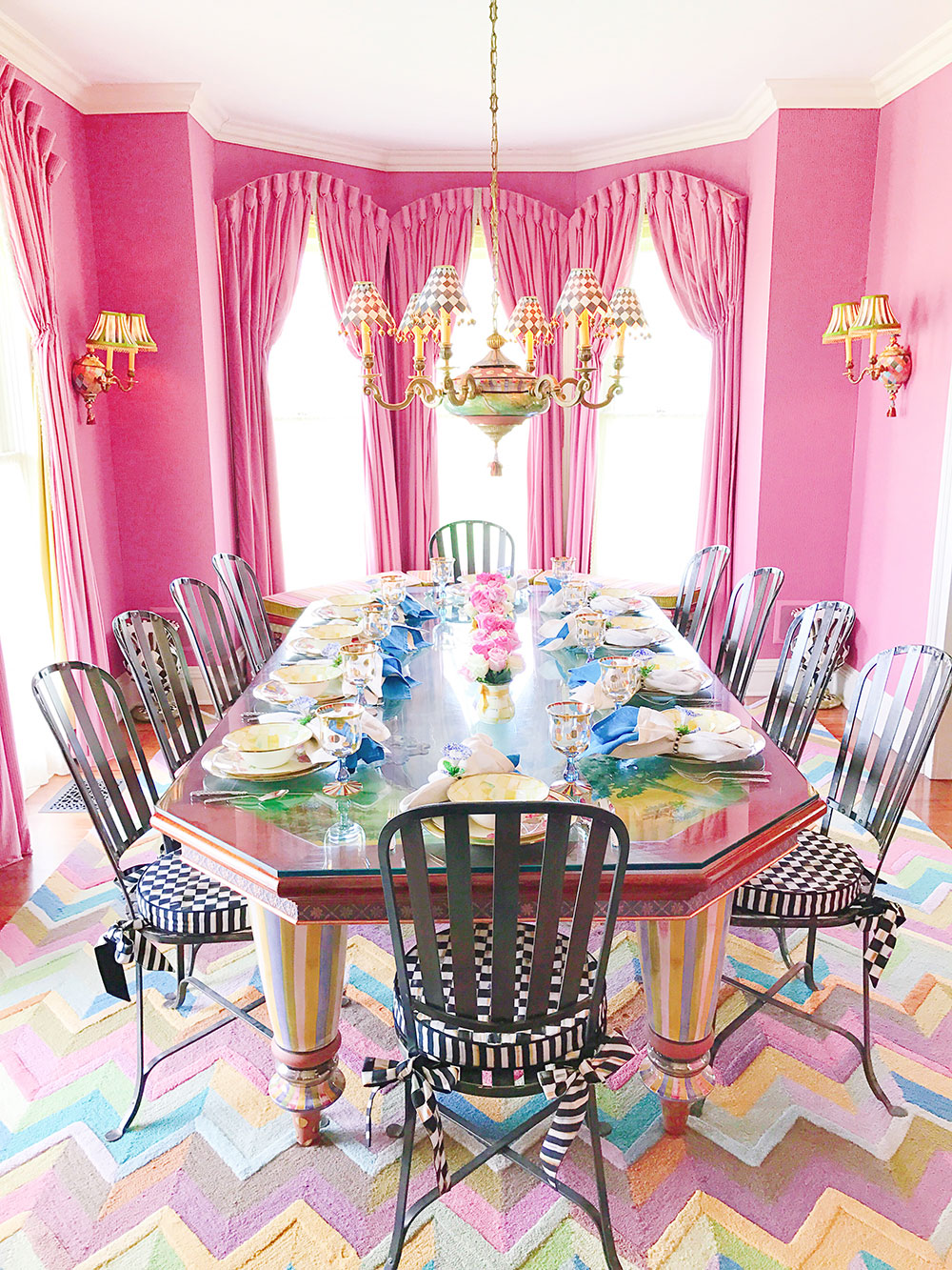 mackenzie-childs-headquarters-pink-dining-room