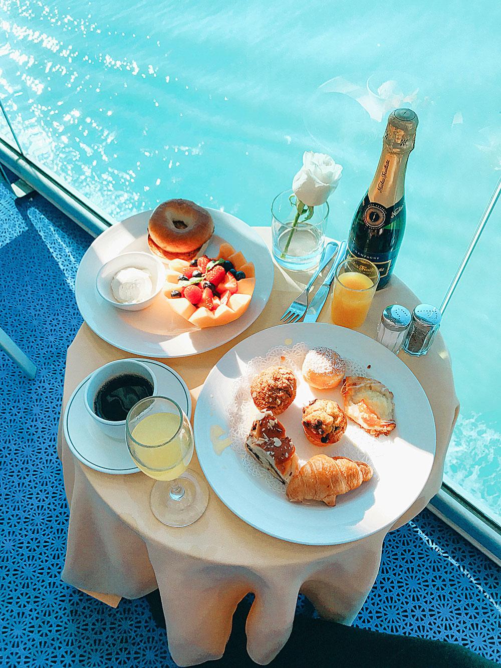 princess cruise breakfast