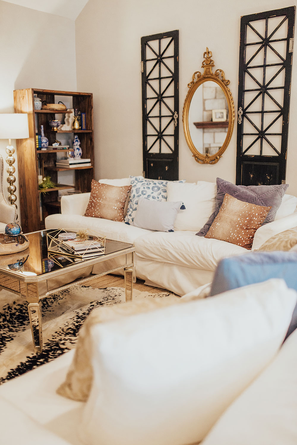 Our Modern Farmhouse Meets French Country Living Room Reveal Vandi Fair,Disney Christmas Outdoor Decorations