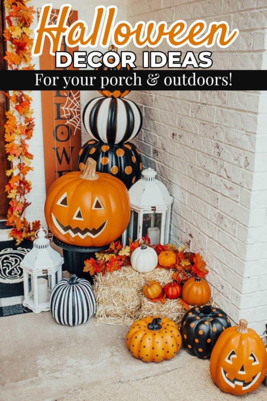 Our Halloween Outdoor Decor Porch Vandi Fair