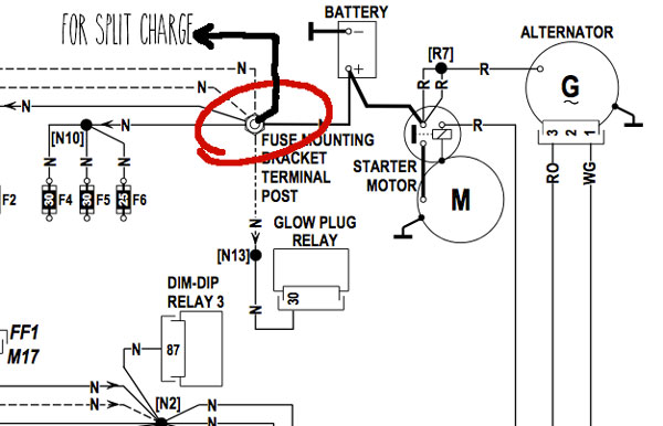 12v fridge relay wiring diagram