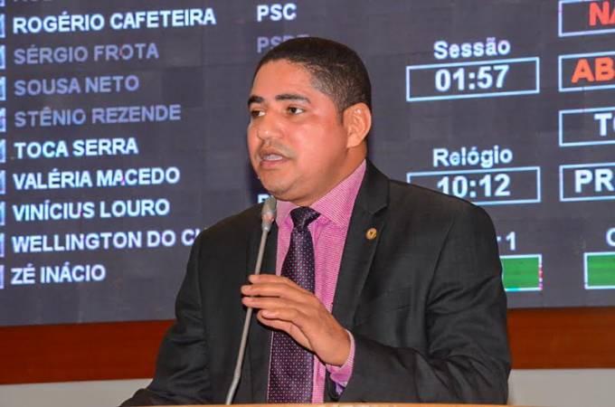 Zé Inácio parabeniza ação do governo do Maranhão