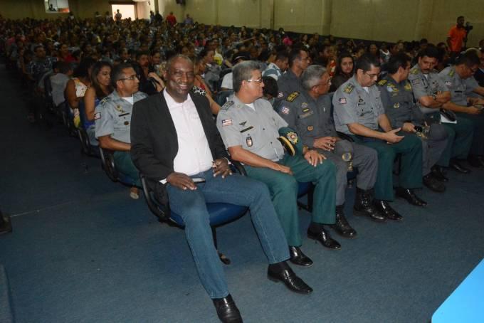 O deputado Cabo Campos (PP), esteve prestigiando o nono aniversário do Colégio Militar Tiradentes Unidade I