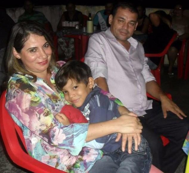 A ex-secretária Adriana e o marido, o vereador Silvio mortos em assalto