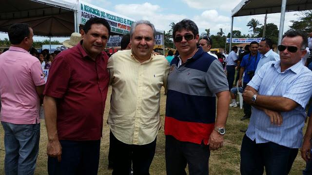 Prefeito Costinha, Marcelo Tavares e Dr. Marcone