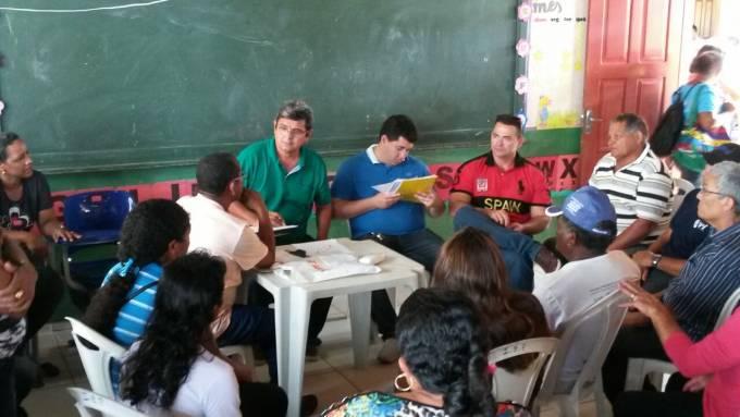 Prefeito, Filuca Mendes, reuniu líderes comunitários do Polo Pirinã, para ouvir as demandas da região que serão resolvidas na ação.