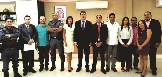E se reúne com o chefes da Segurança Pública do Maranhão