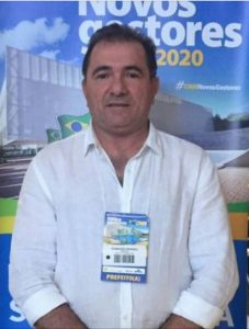 O prefeito eleito de Pedro do Rosário, Raimundo Antônio (PR).