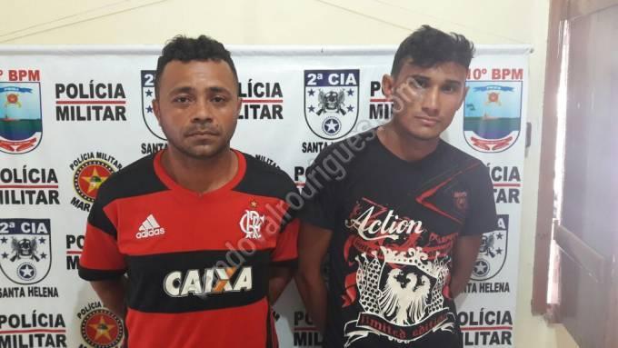 Jovenilson Cunha Moraes, 26 anos, e Roberto Carlos Pereira, 36 anos.