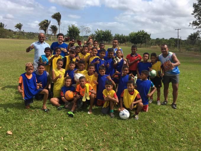 Projeto da Associação Esportiva Independente que conta com o apoio de Rodrigo.