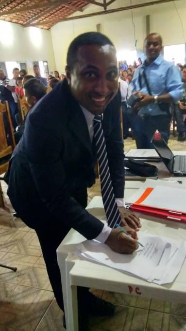 o vice-prefeito, Ismael Monteiro