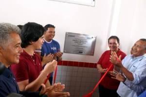 """""""Vai mudar a minha vida"""", diz aluna sobre Escola Digna inaugurada em Turilândia"""
