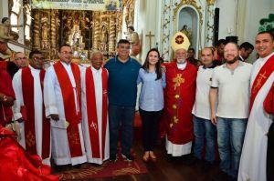 Presidente da Assembleia participa da programação da Festa do Divino em Alcântara