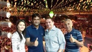 Toca Serra cumpre extensa agenda na Baixada Maranhense