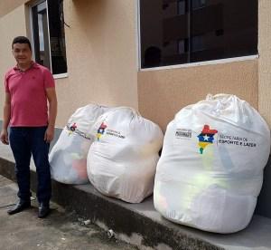 Prefeitura de Mirinzal recebe Kits Esportivos do Governo do Estado do Maranhão
