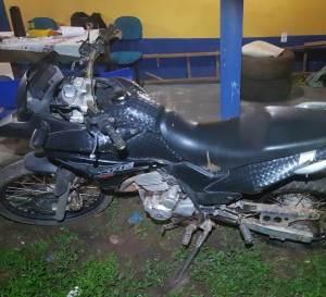 Presidente Sarney – Policia Militar recupera moto roubada