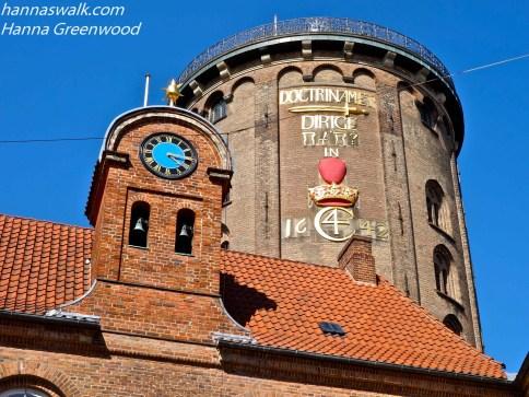Collegium Domus Regiæ fra 1623, og Rundetårn