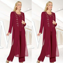 2016-burgundy-chiffon-3-pieces-mother-of