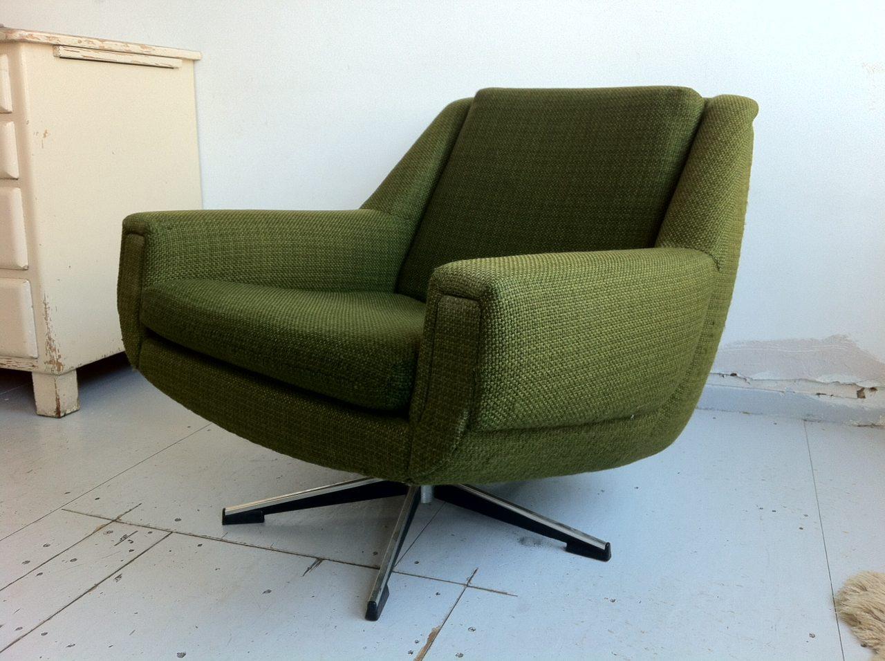 76 Groene Fauteuil  groene fauteuil perfect groene