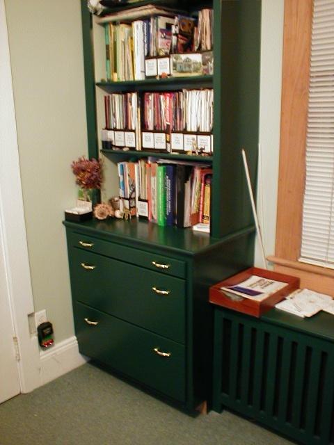 custom built ins islip office